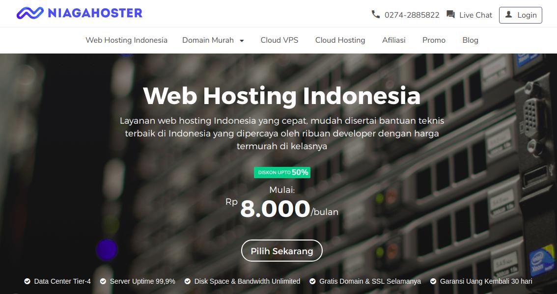 Cara Membeli Hosting Dan Domain Di Niagahoster Novri Web