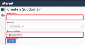 Cara membuat Website Wordpress Multisite dengan Subdomain