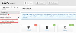 Cara Setup Nameserver Di CentOS Web Panel