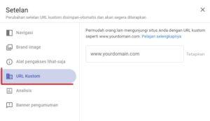 Cara Custom Domain ke Google Site